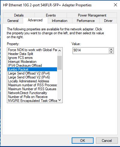 Windows Server 2016 Networking - Part 3- Optimizing Network settings